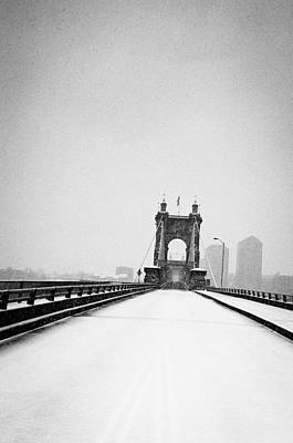 Photograph - John A. Roebling Bridge 2 by Scott Meyer