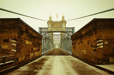 Photograph - John A. Roebling Bridge by Scott Meyer