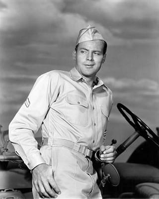 John Agar In Joe Butterfly  Art Print