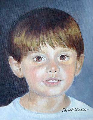 Painting - John Albert Mccann by JoAnne Castelli-Castor