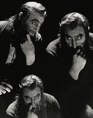 Photograph - John Barrymore In Character Role Of Svengali by Cecil Beaton