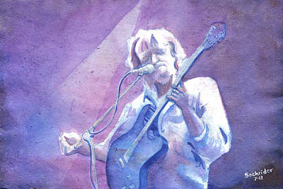 Painting - John Bell At Wakarusa by David Sockrider