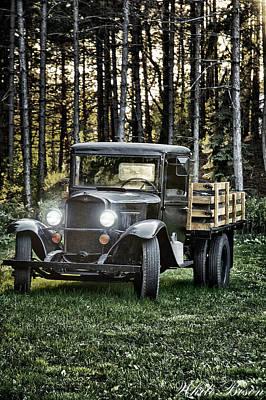 Photograph - John Boy Walton's Car by Patrick Boening