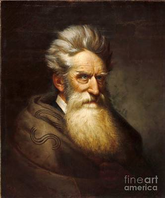 John Brown - Raising Holy Hell  Art Print