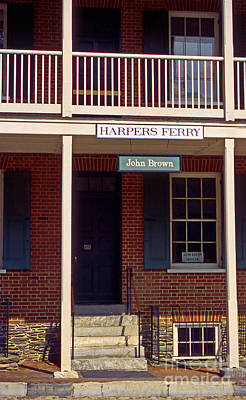 Harpers Ferry Photograph - John Browns Place by Skip Willits