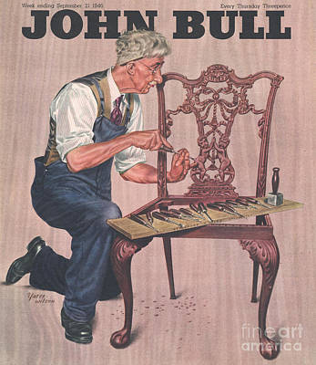 Drawing - John Bull 1946 1940s Uk Diy by The Advertising Archives