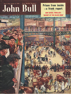 John Bull 1950 1950s Uk Smithfield Art Print by The Advertising Archives