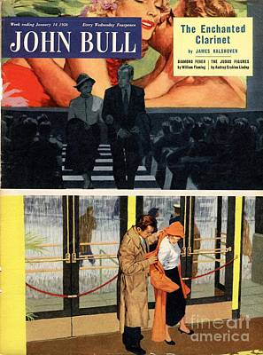 1950 Movies Drawing - John Bull 1950s Uk At The Films Cinema by The Advertising Archives