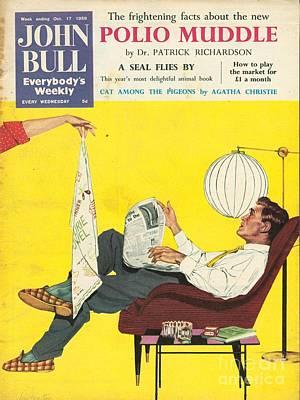 John Bull 1950s Uk Dish Washing Art Print by The Advertising Archives