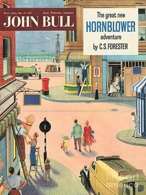 John Bull 1950s Uk Holidays Handymen Art Print by The Advertising Archives