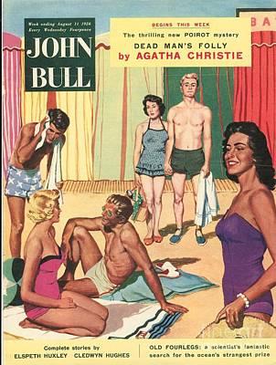 John Bull 1950s Uk Holidays Suntans Art Print by The Advertising Archives