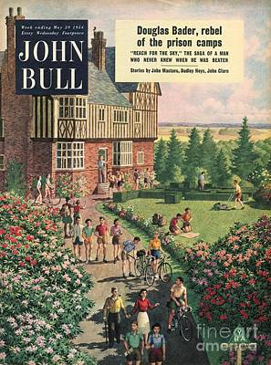 Bike Drawing - John Bull 1950s Uk Holidays Youth by The Advertising Archives