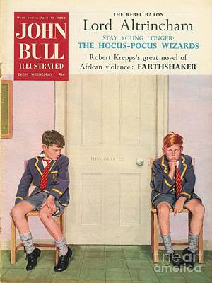 John Bull 1950s Uk Schools Magazines Art Print by The Advertising Archives