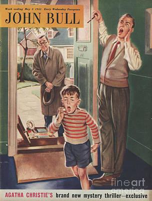 John Bull 1952 1950s Uk Travelling Art Print by The Advertising Archives