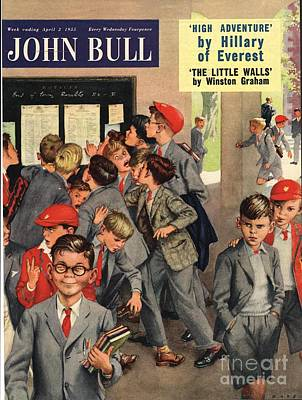 John Bull 1955 1950s Uk Schools Swots Art Print by The Advertising Archives