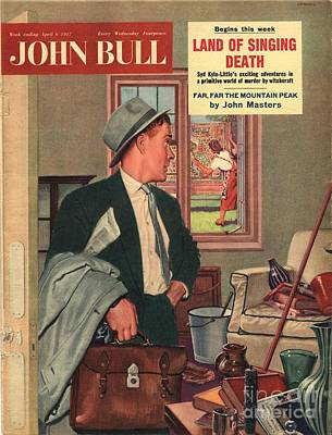 John Bull 1957 1950s Uk Cleaning Art Print by The Advertising Archives