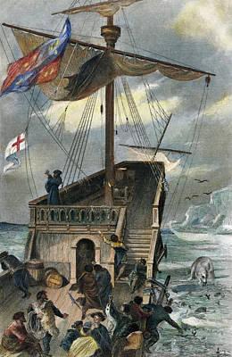 Cabot Painting - John Cabot (c1450-c1499) by Granger