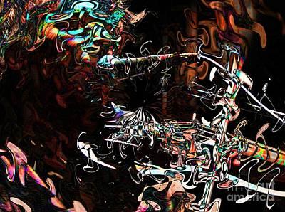 Violinist Digital Art - John Cale #2 by Elizabeth McTaggart