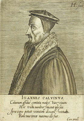 Calvin Photograph - John Calvin by British Library