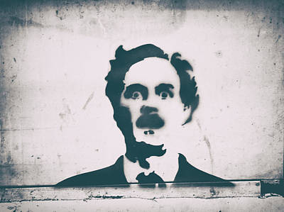 Famous Stencils Photograph - John Cleese by A Rey
