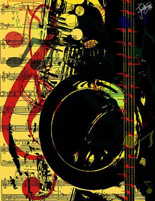 John Coltrane's State Of Mind Original by Frank Eyeson