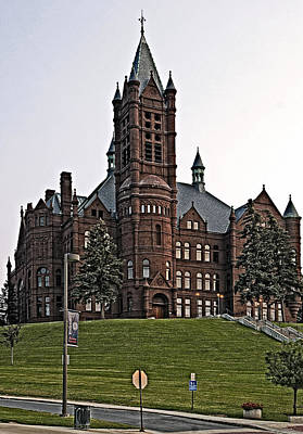 John Crouse Memorial College For Women Art Print