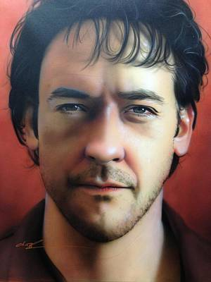' John Cusack ' Original by Christian Chapman Art