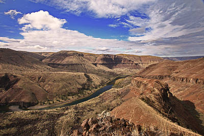 River Photograph - John Day River by Gary Wing