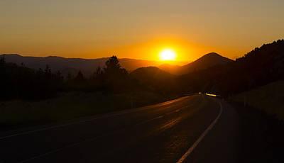 Photograph - John Day Sunset by Spencer Bodian
