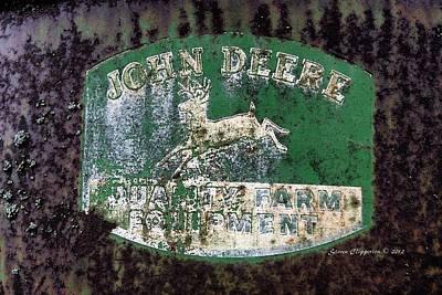 John Deere 2 Art Print by Steven Clipperton