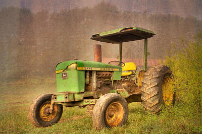 John Deere 2440 Art Print by Debra and Dave Vanderlaan