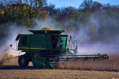 Photograph - John Deere 9660sts Combine by Tim McCullough