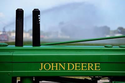 Photograph - John Deere Antique Tractor by Frederic BONNEAU Photography