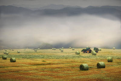 Photograph - John Deere At Work by William Schmid