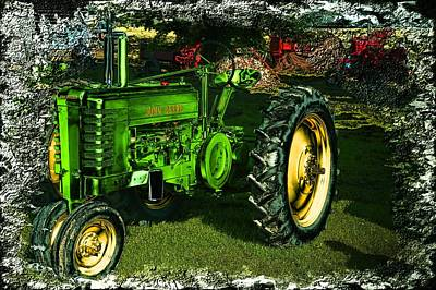 Photograph - John Deere by Bonfire Photography