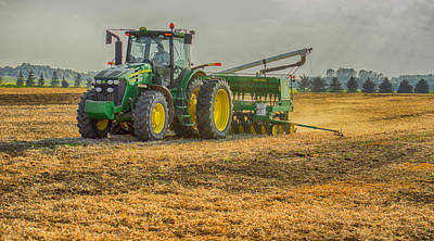 Photograph - John Deere by Garvin Hunter