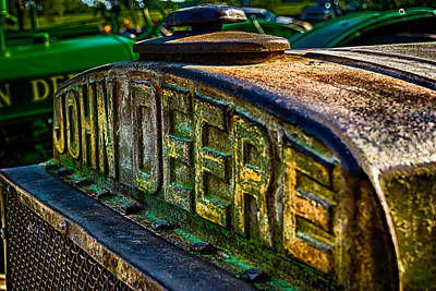 Art Print featuring the photograph John Deere by Jay Stockhaus