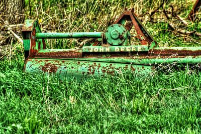 Photograph - Vintage John Deere Grass Cutter by Doc Braham