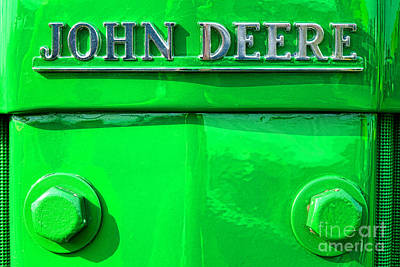 Machinery Photograph - John Deere  by Olivier Le Queinec