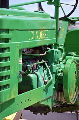 Photograph - John Deere Tractor by Frederic BONNEAU Photography