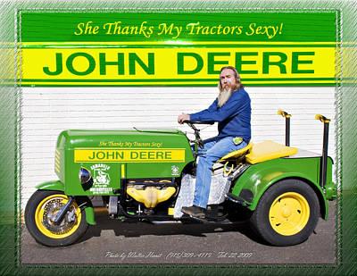 Photograph - John Deere by Walter Herrit
