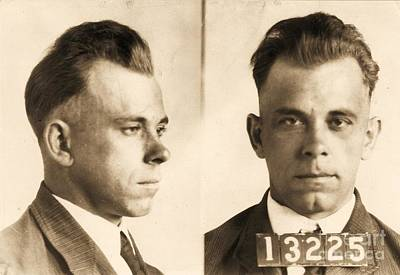 Photograph - John Dillinger by Roberto Prusso