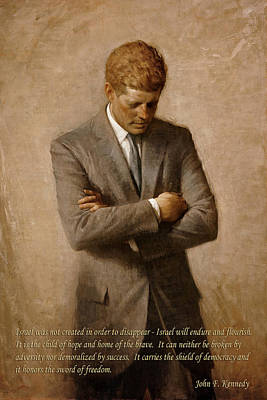 Photograph - John F Kennedy 4 by Andrew Fare