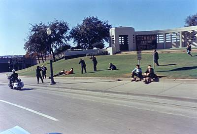 Arthur Rickerby Photograph - John F Kennedy Assassination In Dallas 1963 by Retro Images Archive