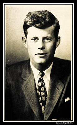 Photograph - John F Kennedy by Audreen Gieger