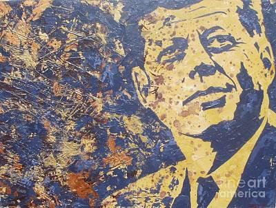 John F Kennedy Original by David Shannon
