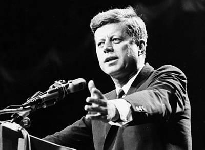 President Kennedy Digital Art - John F Kennedy by Georgia Fowler