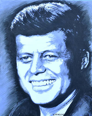 John F. Kennedy Original by Victor Minca