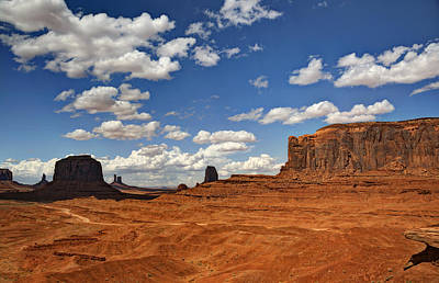 Photograph - John Ford Point - Monument Valley  by Saija  Lehtonen