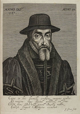 Book Of Martyrs Photograph - John Foxe by British Library